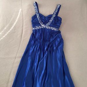 Morgan & Co. Dresses & Skirts - Sapphire Blue Formal Dress