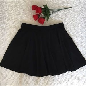 Ambiance Apparel Dresses & Skirts - Black Skater Skirt