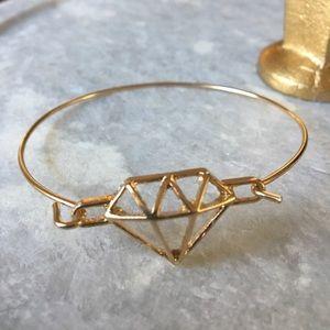 🌸Gold Plated Diamond Bangle