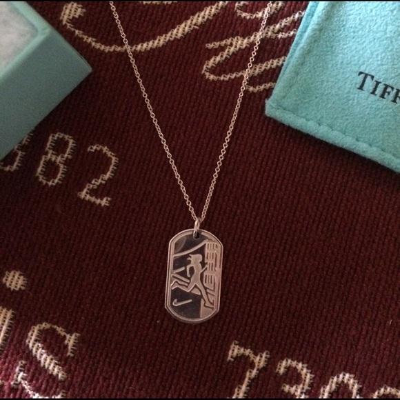 77a631225 Tiffany & Co. Jewelry   Tiffany Co Nike Sf 12 Marathon Necklace Nice ...