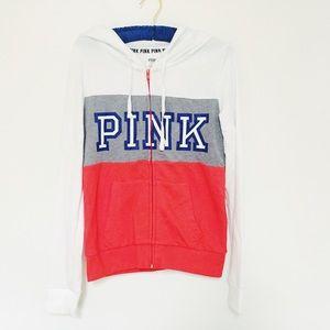 PINK Victoria's Secret Tops - LOWEST! VS PINK Sweatshirt Hoodie
