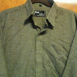 hm-moden Other - HM herdsmen  shirt brow/white interwoven  sz XL