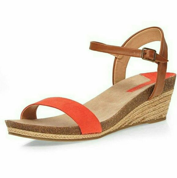 94901fae55e NEW Merona Target Eve Strap Quarter Wedge Sandal