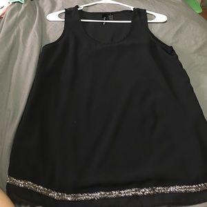 Tops - Sheer tank top blouse