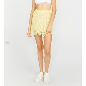 The Laundry Room Dresses & Skirts - Shortie Skirt in Yellow Sunshine