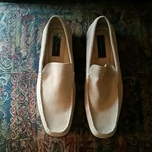 Florsheim Other - Florsheim Mens Beige Loafer Size 11.5 New!