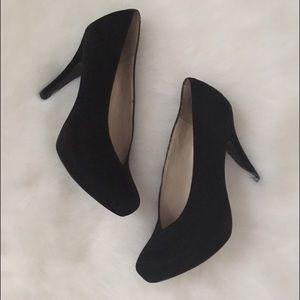 Nine West Shoes - SALE!! Nine West Black Suede Heels, Size 7.5