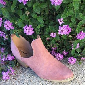 shoeroom21 boutique Shoes - Ladies Mauve steel toe Cowboy booties.NIB