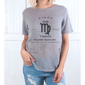 The Laundry Room Sweaters - Virgo Method Short Sleeved Sweater