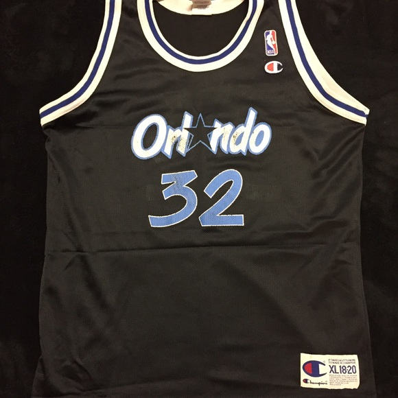 c6f4c93dd Champion Other - Shaquille O Neal Vintage Magic Basketball Jersey
