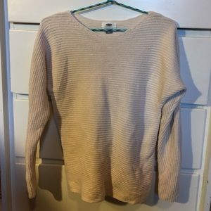Worn once! comfy blush sweater