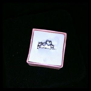 Jewelry - Heart toe ring ss