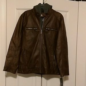 Other - BOYS BROWN JACKET