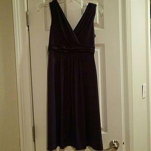 Plum casual dress