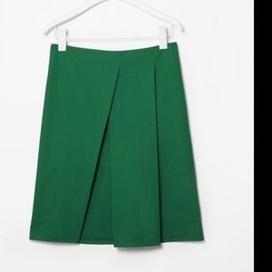 COS  Dresses & Skirts - COS forest green scuba skirt Sz 10
