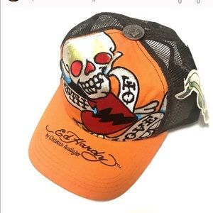 "Ed Hardy Other - Ed Hardy Basic Cap ""Death of Love"""