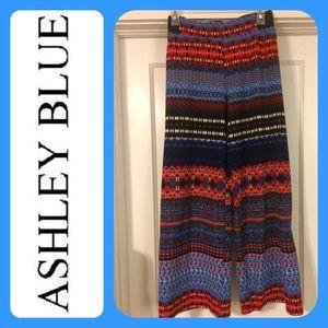 ashley blue Pants - Ashley Blue palazzo pants