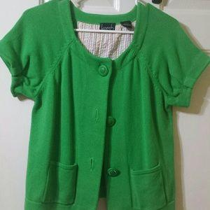 kersh Sweaters - Green cardigan