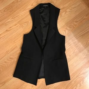 Express Sleeveless Blazer size 2
