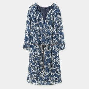 Violeta by Mango floral design dress