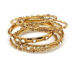 Amrita Singh Jewelry - New Amrita Singh Delhi Bangle Set 7 Pieces