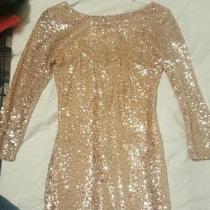 Charlotte Russe sequin/sparkely dress