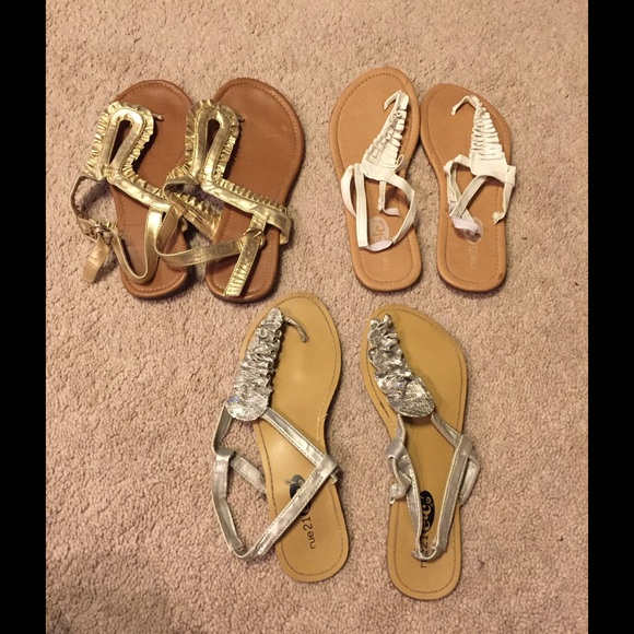 Rue21 Shoes - Sale Lowered 🎉🎉Sandal Bundle