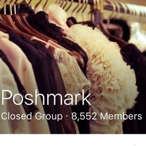 Find our TIPS & ADVICE POSHMARK Group on Facebook