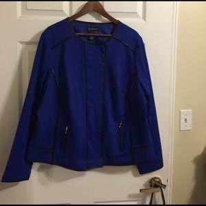 INC International Concepts Jackets & Blazers - Plus Size INC Moto Jacket