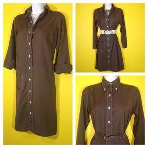Vintage '70s Shirt Dress