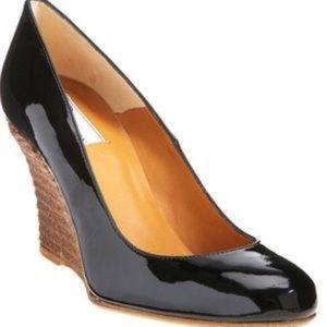 Lanvin Shoes - lanvin patent wedge