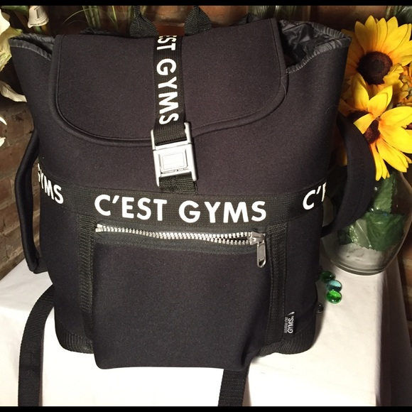 16d1f25ac439 C est Ca New York Handbags - 💄💋SALE C est Gym Backpack