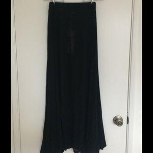 🆕 Wildfox Flowy Semi Sheer Skirt NWT