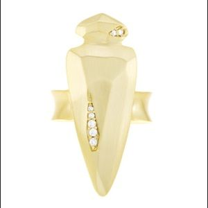 Kendra Scott Sally Cocktail Ring in Yellow Gold