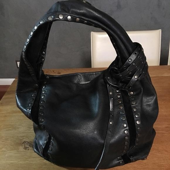 b6c9e13e2c2d Jimmy Choo Handbags - Jimmy choo Saba studded bag