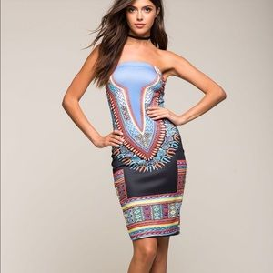 a'gaci Dresses & Skirts - Summer Rain Tube Dress