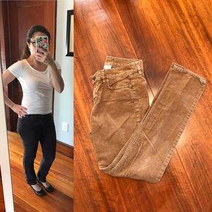 J. Crew Pants - J. Crew City Fit brown corduroy pants