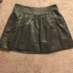 Elle size 12 pewter skirt