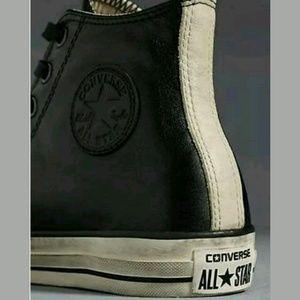 Converse Shoes - Converse X John Varvatos Burnished Hi Top Leather