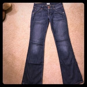 H By Hudson Denim - HUDSON Jeans boot cut & likened size 27