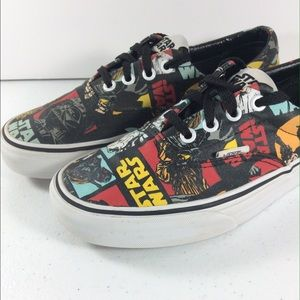 0c960df17b Vans Shoes - Vans X Star Wars May The Force Lo Size 6