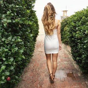 Dresses & Skirts - white bodycon dress