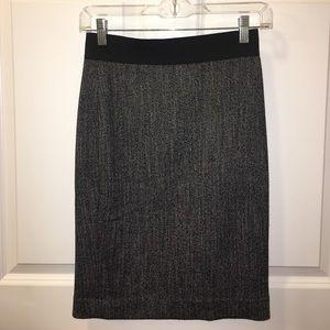 Express Herrington Bone Pencil Skirt Size 00
