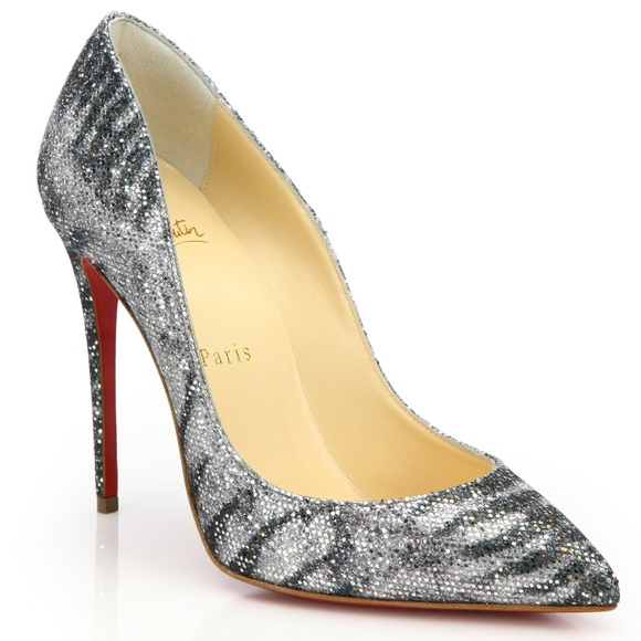 97be514d9c92 Christian Louboutin Animal Pigalle Follies Glitter