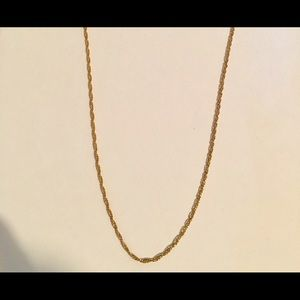 Jewelry - Gold Chain 14k gold 18 in 3mm RopeChain