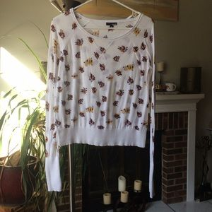 Hurley floral sweater