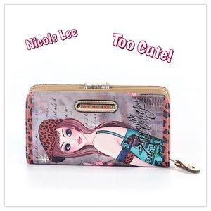 Nicole Lee Handbags - NWOT🎀Adorable Large Nicole Lee Wallet/Clutch🎀