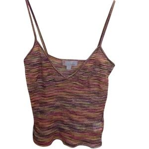 M by Missoni Tops - M MISSONI Knit tank top Sz xs cropped