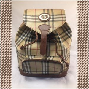 Handbags - Collezioni Plaid Backpack
