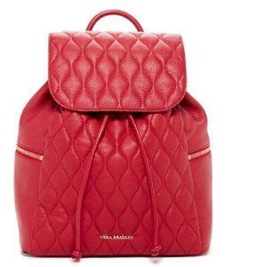Leather Vera Bradley backpack